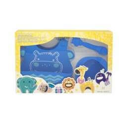 Marcus & Marcus Baby Feeding Starter Set (Blue Lucas)