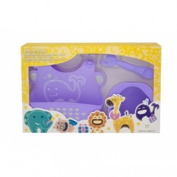 Marcus & Marcus Baby Feeding Starter Set (Purple Willo)