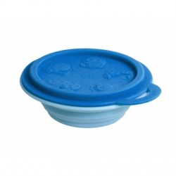 Marcus & Marcus Silicone Collapsible Bowl (Blue Lucas)