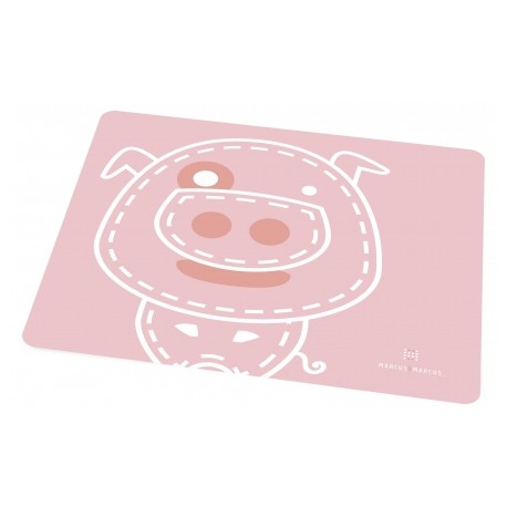 Marcus & Marcus Silicone Placemat (Pink Pokey)