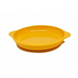Marcus & Marcus Silicone Suction Plate (Yellow Lola)