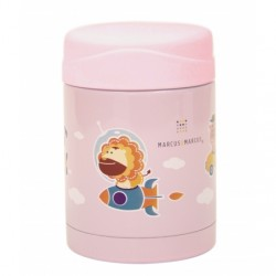 Marcus & Marcus Thermal Food Jar 350ml (Pink)