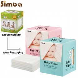 Simba Multi-Functional Baby Wet & Dry Wipes (80 Sheets)