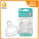Simba Mother Touch Anti Colic Nipple (Wide Neck/Cross Hole ) Twin Pack (S-Xl)