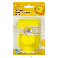 Simba Sponge Replacement - Bottle & Nipple Brush Set