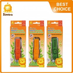 Simba Citronella Mosquito Repellent  Bracelet (1 Pieces) Orange