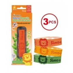 SIMBA Citronella Mosquito Repellent - Bracelet (3 Pieces)
