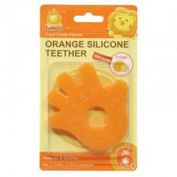 Simba Food Grade Silicone Teether - Orange Fragrance