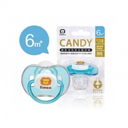 Simba Candy Thumb Shaped Pacifier - Blue (6m+)
