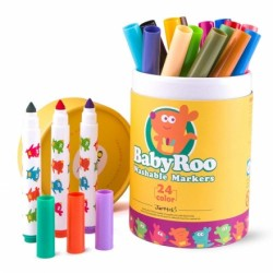 Joan Miro BabyRoo Washable Markers - 24ct