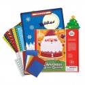Joan Miro Mosaics Stickers Craft Kit - Christmas Special