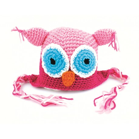 Crochet Owl Series