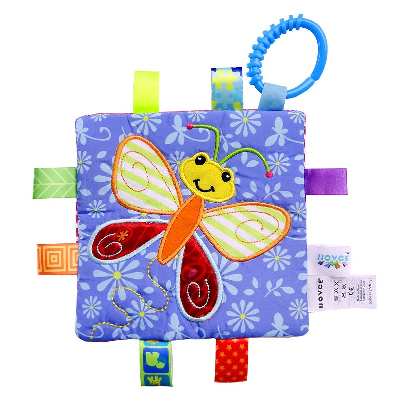 Touch And Feel Toys : Baby touch and feel toy butterfly toys