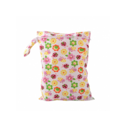 Ichiro WATERPROOF WET BAG / DIAPER BAG- FLOWER