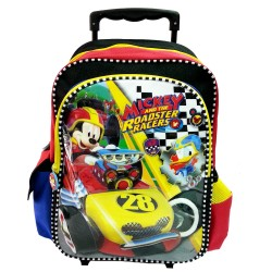Disney Mickey Mouse Roaster Race School Trolley Bag