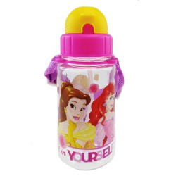 Disney Princess Believe 350ml Tritan Bottle with Straw (BPA Free)