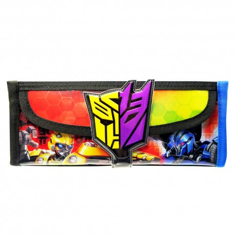 Transformers TF6 Square Pencil Bag with Pocket