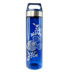 Disney Mickey Mouse Art of Henna 650ml Tritan Bottle (BPA Free)