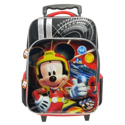 Disney Mickey Mouse Roaster Race Pre-School Trolley Bag