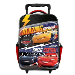 DISNEY CARS RACE PRIMARY SCHOOL TROLLEY BAG