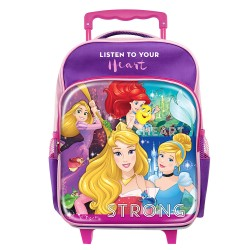 Disney Princess Heart Pre School Trolley Bag