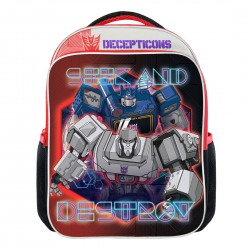Transformers Decepticons Primary School Bag