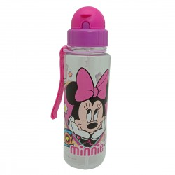 Disney Minnie Mouse 650Ml Tritan Bottle With Straw * Bpa Free