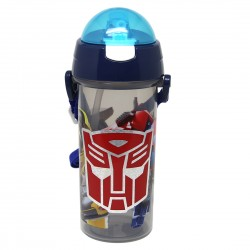 Transformers TFEG Water Bottle With Straw (600ml)
