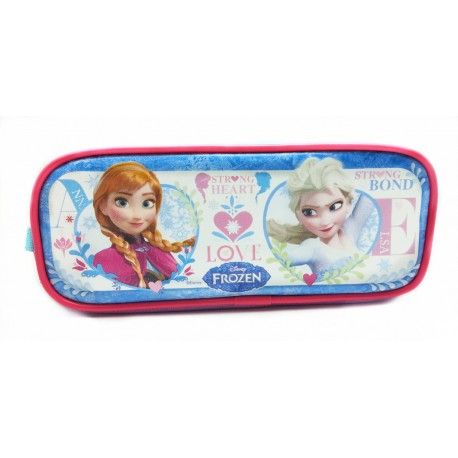 Disney Frozen Strong Heart Love Square Pencil Bag