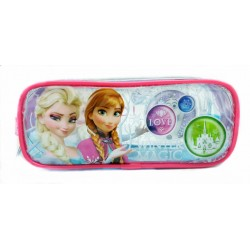 Disney Frozen Winter Magic Square Transparent Pencil Bag Set