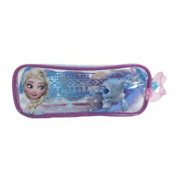 Disney Frozen Lovely Transparent Square Pencil Bag Set