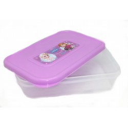 Disney Frozen Purple Square Lunch Box