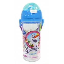 Disney Frozen Spring 600ML Tritan Bottle With Straw