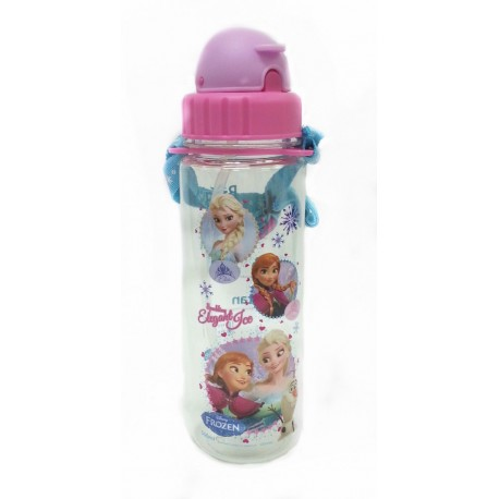 Disney Frozen Elegant 500ML Tritan Bottle With Straw