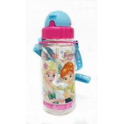 Disney Frozen Sister Love 350ml Tritan Bottle With Straw