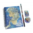 Disney Frozen Pretty Elsa A6 NoteBook With Stationery Set