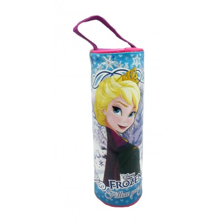 Disney Frozen Queen Elsa Round Pencil Bag