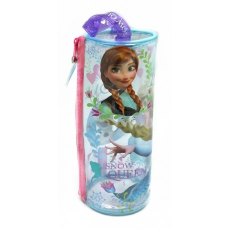 Disney Frozen Love Transparent Round Pencil Bag Set