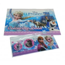 Disney Frozen Elsa & Olaf Coloring Book Set