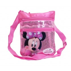 Disney Minnie Mouse Sparkling Stylish Pocket Sling Bag