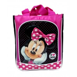Disney Minnie Mouse I Love MM Tote Bag
