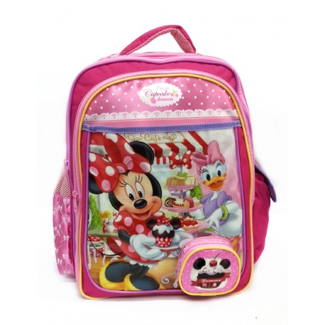 Disney Minnie Mouse Cupcake Heavan School Bag