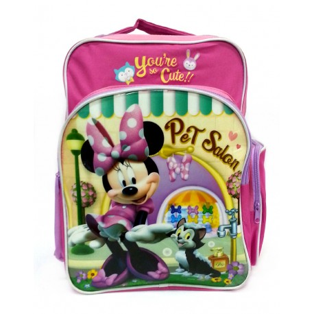 Disney Minnie Mouse Pet Salon Schoo Bag