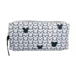 Disney Mickey Mouse Mickey Head Double ZipPencil Bag