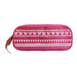 Disney Minnie Mouse Pink Line Pencil Bag
