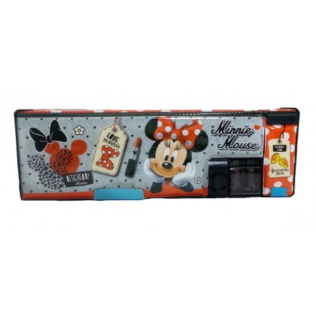 Disney Minnie Mouse Who Am I Magnetic Pencil Case