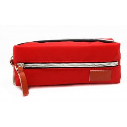 Disney Mickey & Friends Red Pencil Bag