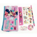Disney Minnie Mouse Pencil Case OPP Stationery Set