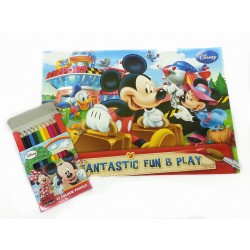 Disney Mickey Mouse Fantastic Fun Coloring Book Set