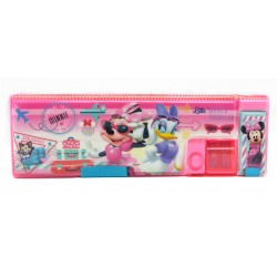 Disney Minnie Mouse & Daisy Adventure Magnetic Pencil Case